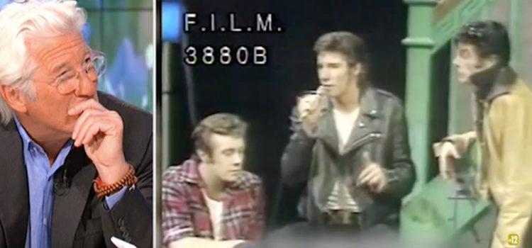 Richard Gere y su video como actor de 'Grease' en 'Hora Punta'