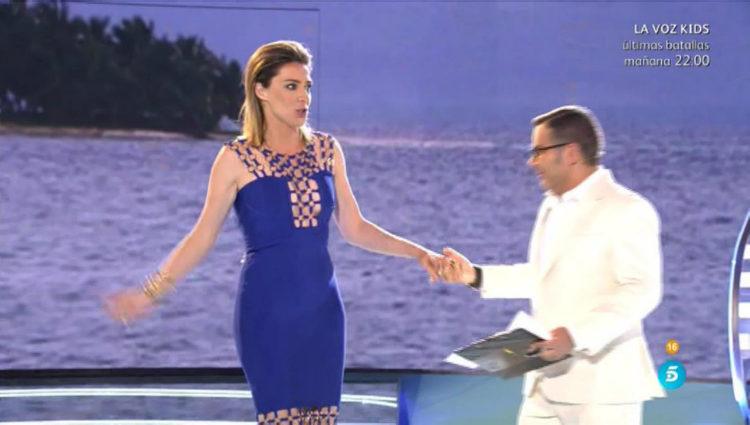 Sandra Barneda, presentadora de 'SV: Conexión Honduras', visita el plató | telecinco.es