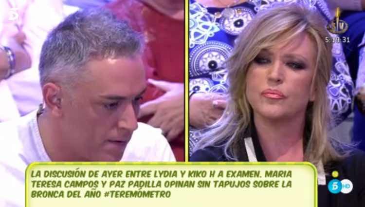 Kiko Hernández rompe definitivamente con Lydia Lozano / Telecinco.es