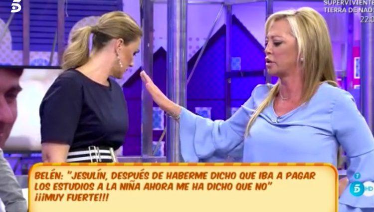 Belén Esteban totalmente indignada / Foto: telecinco.es