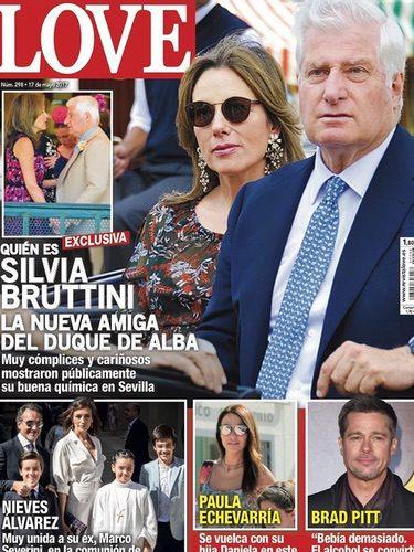 El Duque de Alba y su nueva novia en la portada de la revista Love