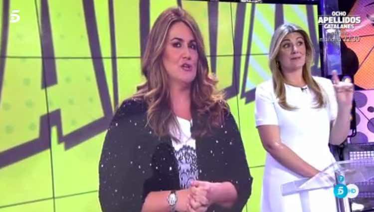 Carlota Corredera no rechaza su imagen anterior / Telecinco.es