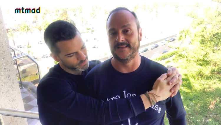 Nacho Montes y Roger Gosalbez en el último capítulo de 'Muchamiel' / Mtmad