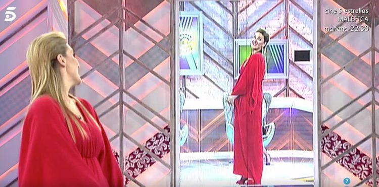 Carlota Corredera con su nuevo look