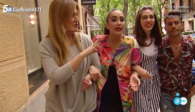 Carlota Corredera de tiendas con los estilistas de 'Cámbiame'