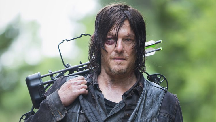 Daryl interpretado por Norman Reedus en 'The Walking Dead'
