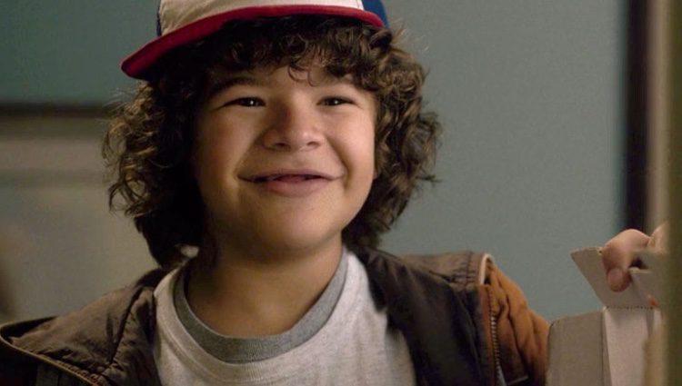 Dustin en la serie 'Stranger Things'