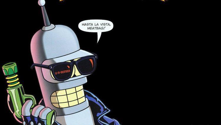 Bender es uno de los personajes más importantes de 'Futurama'