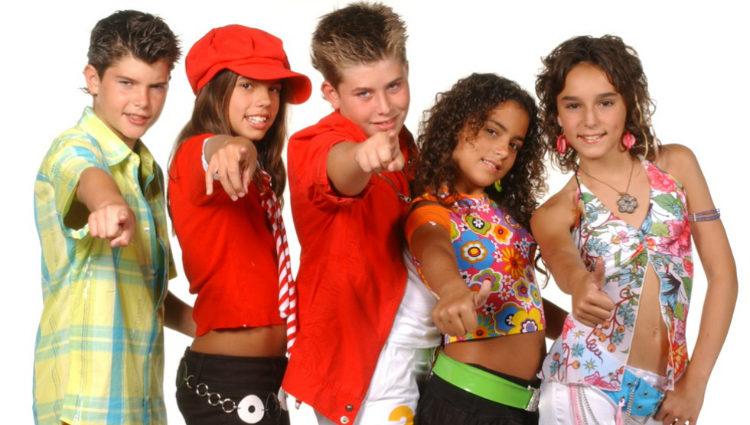 Diego Domínguez formó parte del grupo musical 3+2 con sus compañeros de 'Eurojunior'