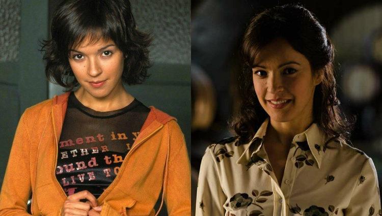 Verónica Sánchez en las series 'Los Serrano' y 'Gran Reserva. El Origen'
