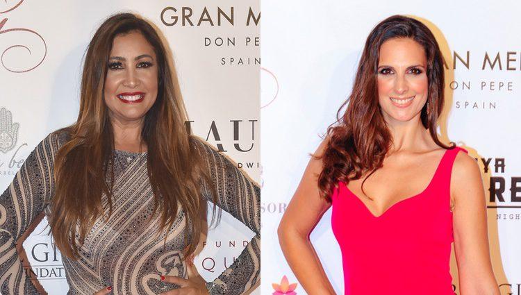María Bravo y Nuria Fergó en el evento