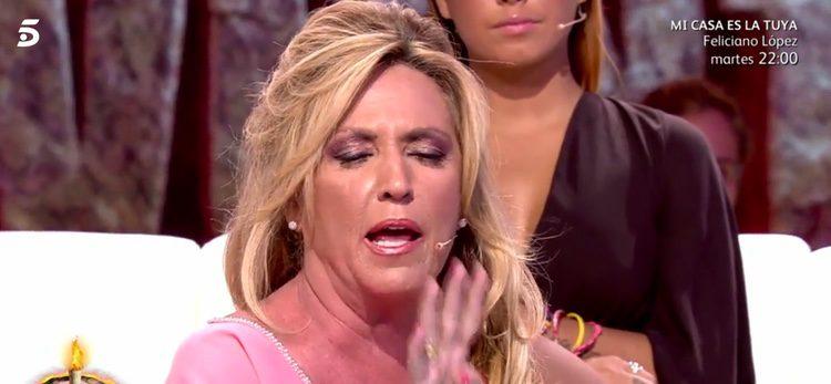 Lydia Lozano se enfada con Kiko Matamoros