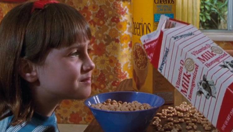 La actriz en su papel estelar, 'Matilda'