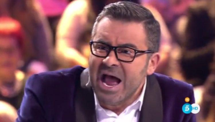 Jorge Javier Vázquez perdiendo los nervios en el plató de 'Gran Hermano 17' / Foto: Telecinco.es