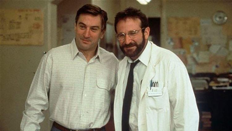 Robert De Niro y Robin Williams en 'Despertares'
