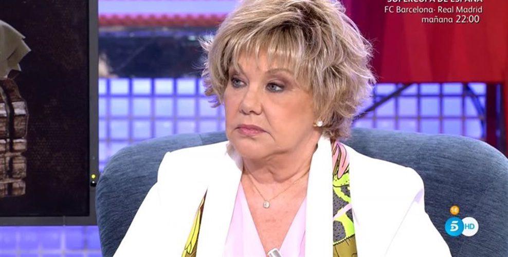 Karina hablando de Juan Miguel en 'Sábado Deluxe'/ Fuente: telecinco.es