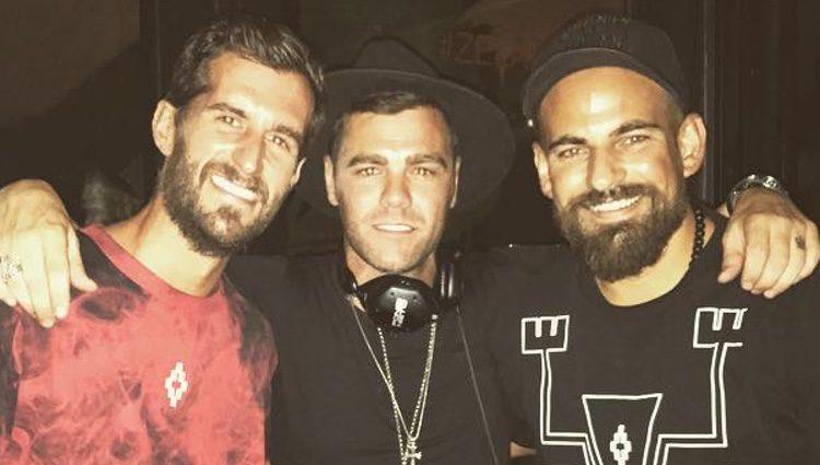 Fonsi Nieto en una discoteca de Ibiza tras volver al trabajo/ Fuente: Instagram