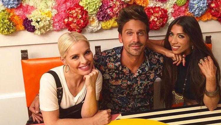 Guillermo Martín, Lidia Reyes y Soraya / Instagram