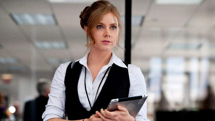 Amy Adams como Lois Lane en 'El Hombre de Acero'