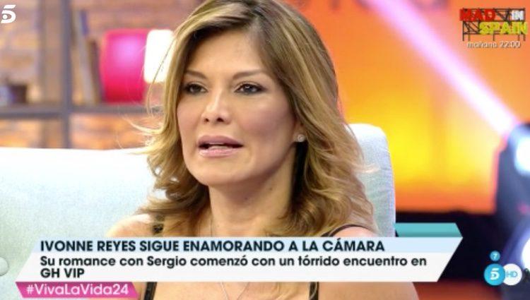 Ivonne Reyes por su paso por el programa/ Fuente: 'Viva la Vida'