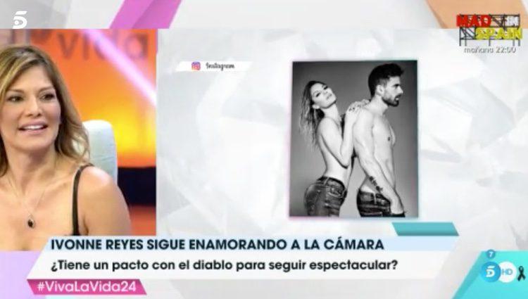 Ivonne Reyes hablando de su novio
