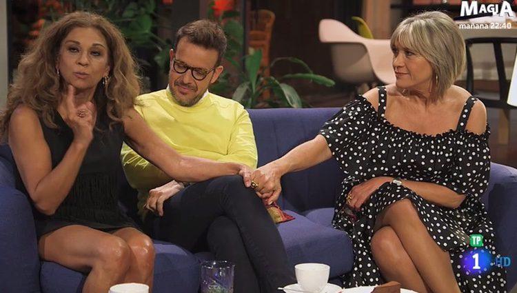 Lolita Flores, Ángel Llacer y Julia Otero en 'Lolita tiene un plan' / Foto: RTVE.es