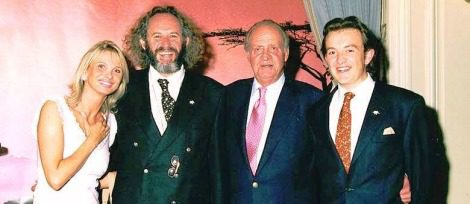 Corinna zu Sayn-Wittgenstein con el Rey Juan Carlos