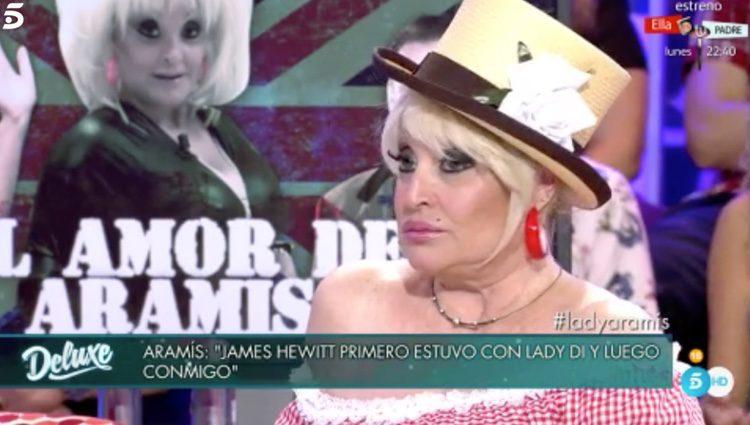 Aramis Fuster en 'Sábado Deluxe' / Foto: Telecinco.es