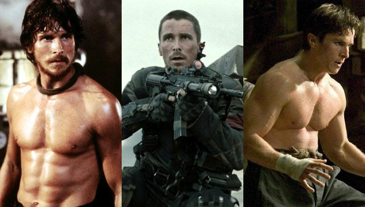 Bale, en forma en 'El imperio del fuego', 'Terminator Salvation' y 'Batman Begins'