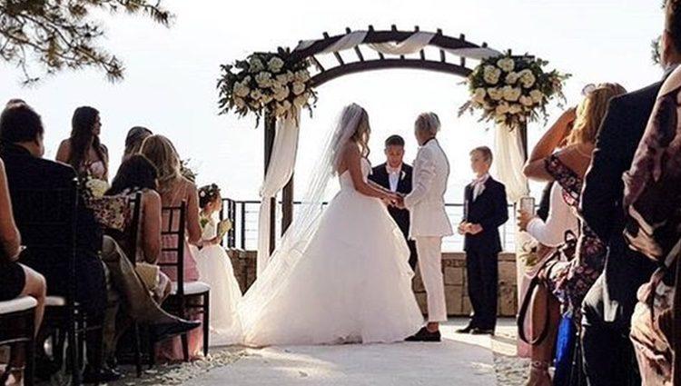 Mollee Gray y Jeka Jane en su boda / Fuente: Instagram