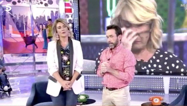 Jesús Manuel en 'Sálvame' / Foto. telecinco.es
