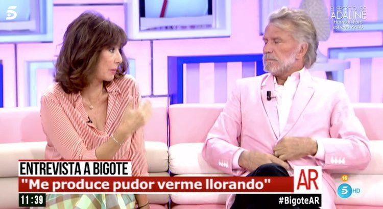Ana Rosa Quintana y Bigote Arrocet en 'El Programa de AR'
