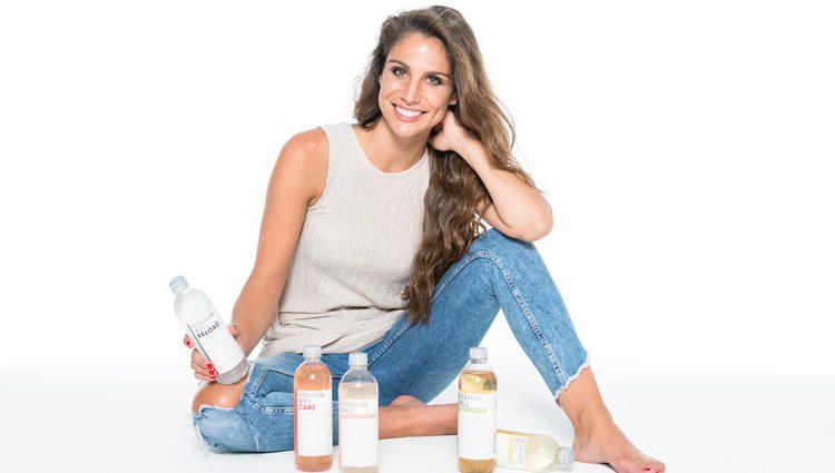 Lucía Villalón en la campaña Vitamin Well
