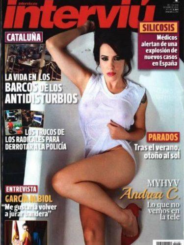 La Pretendienta De Myhyv Andrea C Se Desnuda En Interviú Tanto