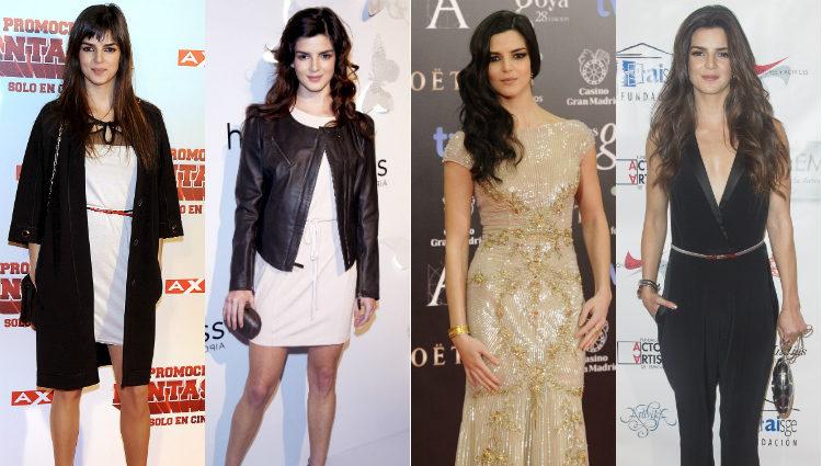 La evolución de los looks de Clara Lago en los últimos años