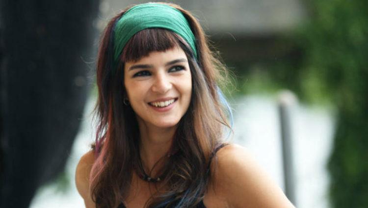 Clara Lago caracterizada como Amaia en la comedia 'Ocho apellidos vascos'