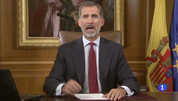 El Jefe del Estado se dirige a los españoles y españolas