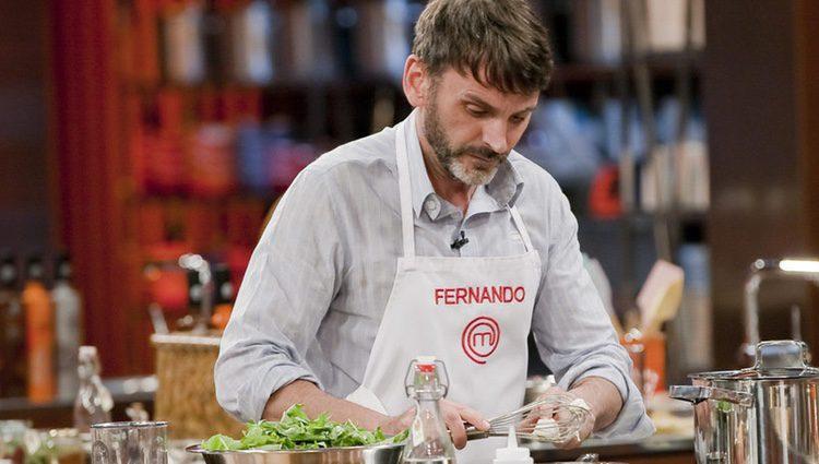 Fernando Tejero en 'MasterChef' / Foto: FórmulaTV