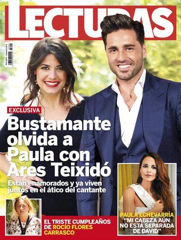 David Bustamante y Ares Teixidó en la portada de Lecturas