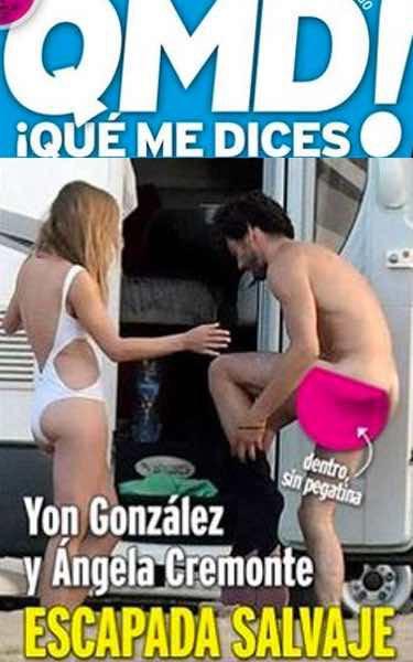 Yon González Pillado Completamente Desnudo Durante Una Escapada A