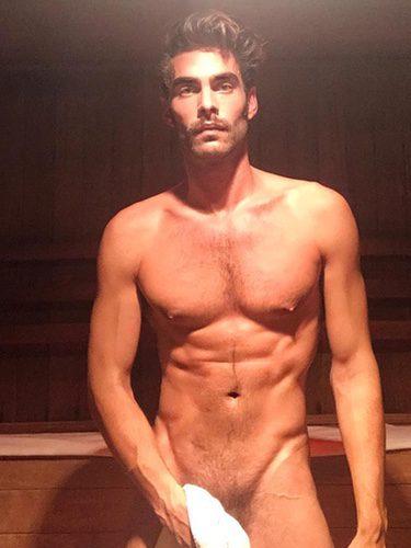 Jon Kortajarena muy sexy en la ducha/Foto:Instagram