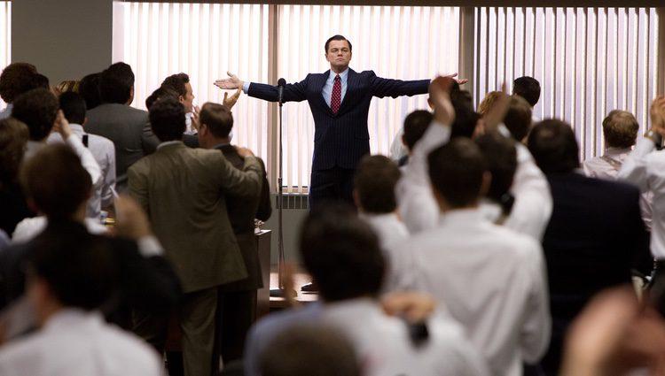 Fotograma de 'El lobo de Wall Street'