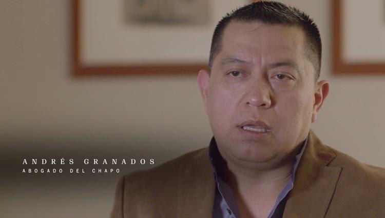 Andrés Granados, abogado del Chapo