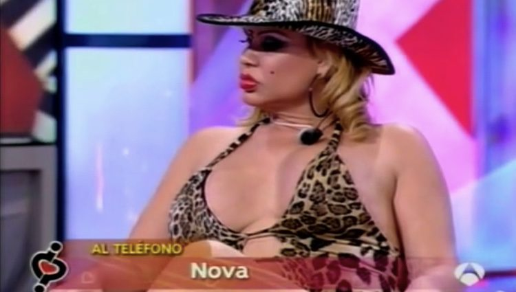 La Veneno durante una entrevista en 'DEC'. Antena 3