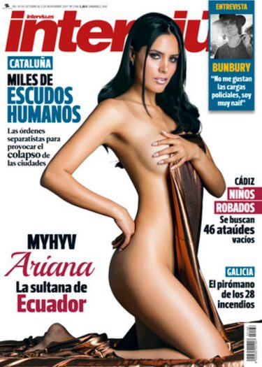 Ariana Freire Extronista De Myhyv Se Desnuda En La Portada De
