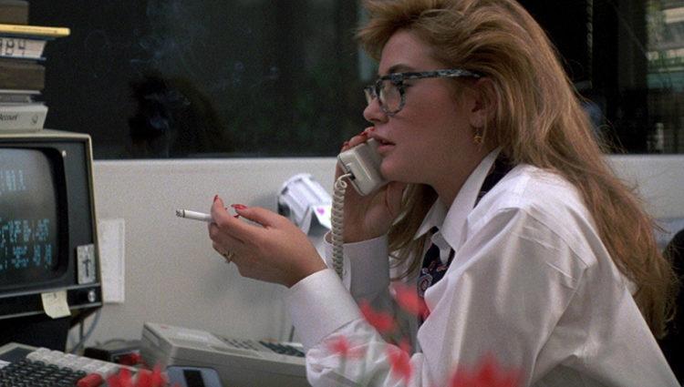 Demi Moore como Jules en 'St. Elmo, punto de encuentro'