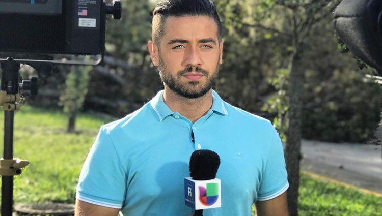 Borja Voces como reportero / Instagram