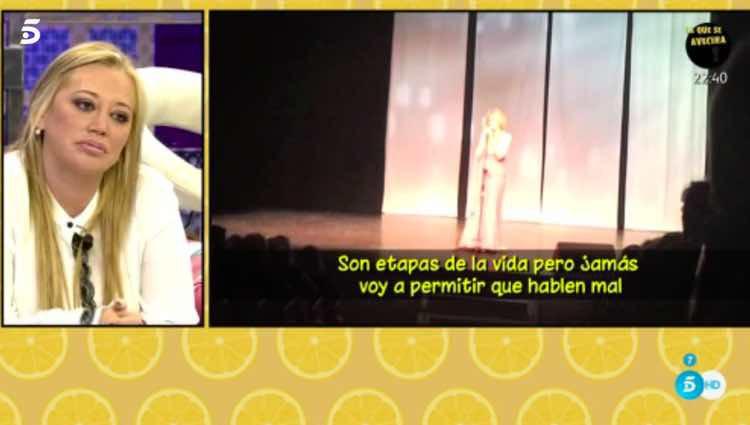 Rosa Benito sale en defensa de sus excompañeros / Telecinco.es