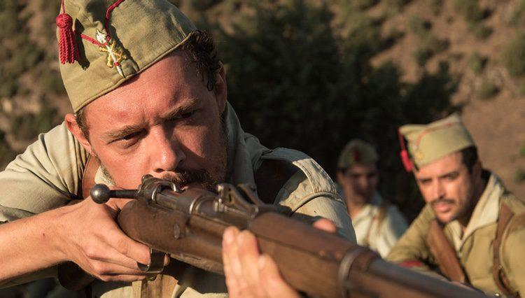 Federico Aguado en una escena de 'Tiempos de guerra'