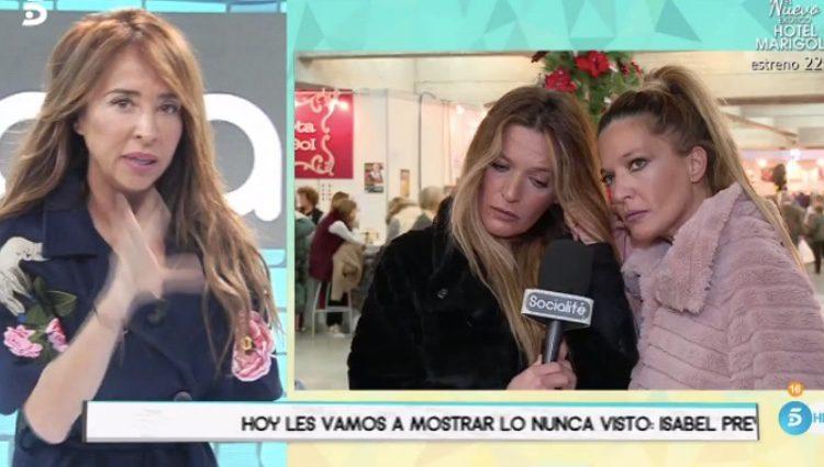 Raquel y Bibi, las Mellis, en el programa 'Socialité'/ Fuente: telecinco.es